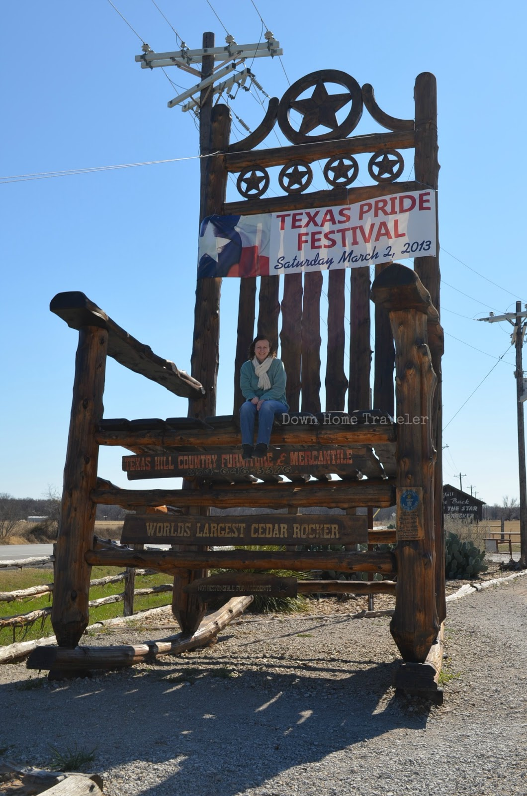 Excellent Texas Sized Rocker Down Home Traveler Frankydiablos Diy Chair Ideas Frankydiabloscom
