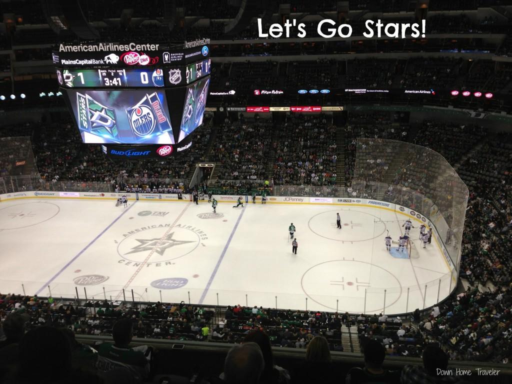 Stars v. Oilers 12/01/2013
