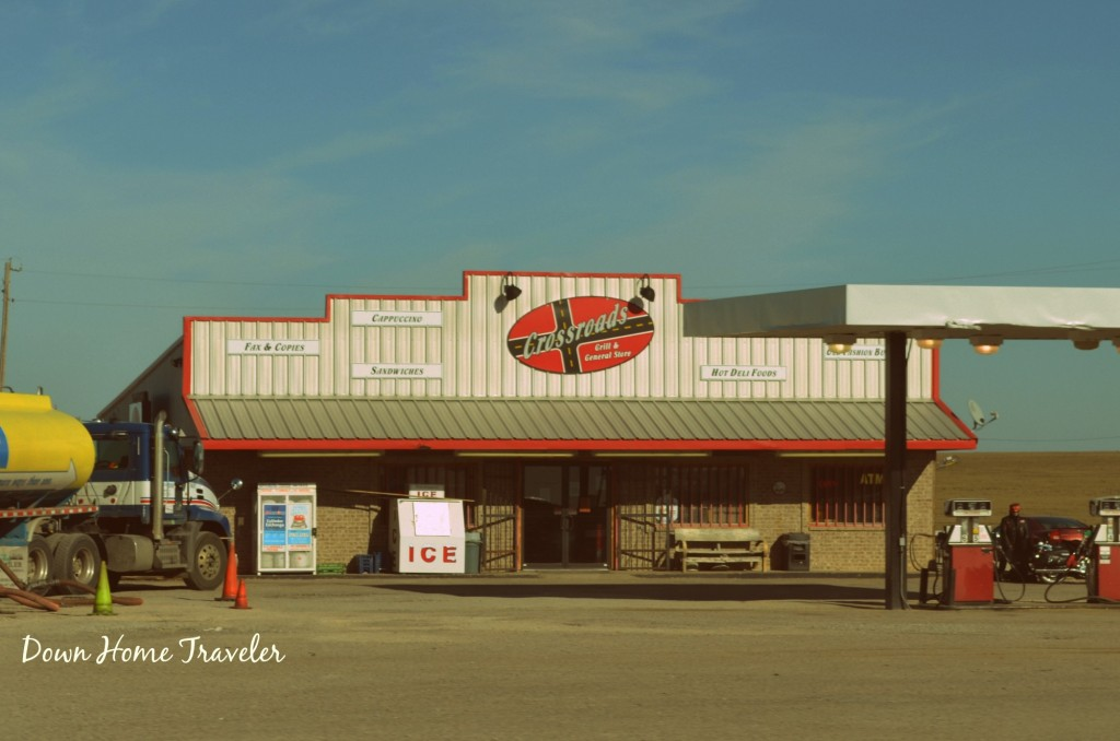 Truck Stop, Oklahoma, Texas, Highway 377
