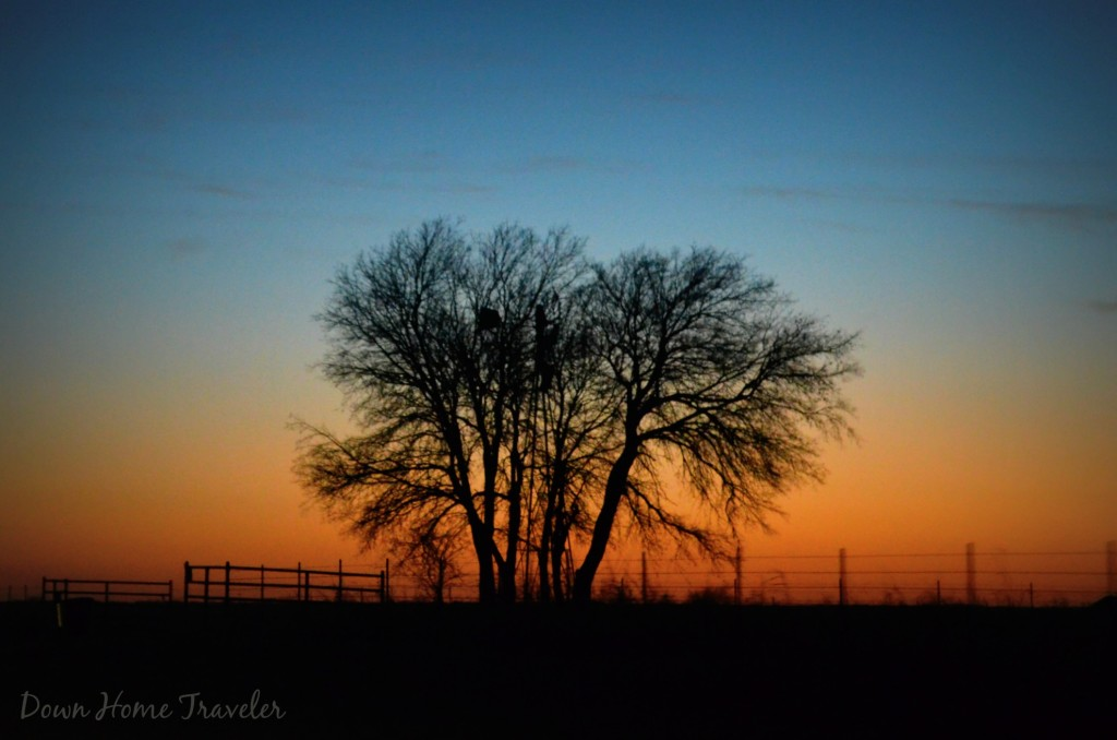 Oklahoma, sunset, silhouette, windmill, country