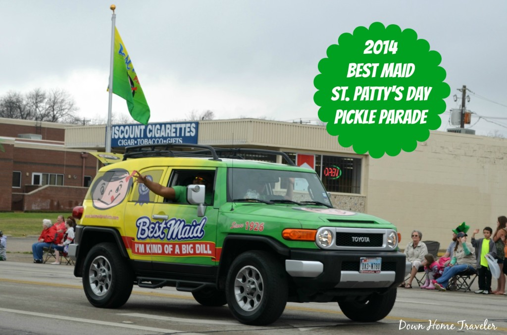 Mansfield, Texas, Pickles, St. Patricks Day, Parade