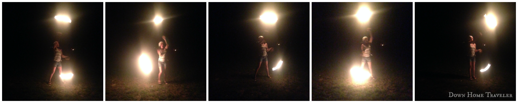 Fire-Dance, Lake-Austin, ATX, Emma-Long, Camping