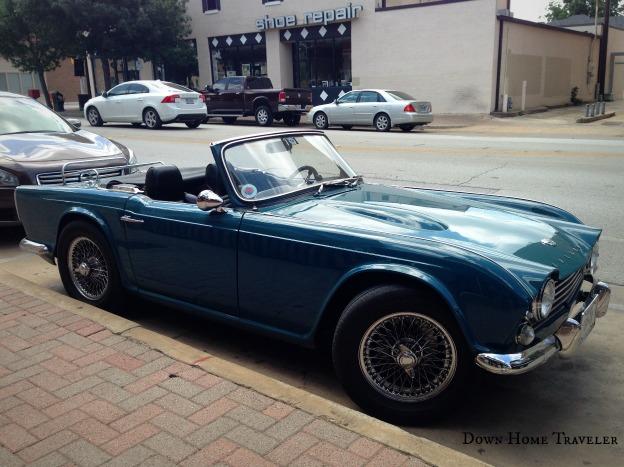 Vintage, Antique Automobiles, Convertible, Triumph