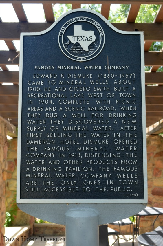 Mineral Wells, Texas, Texas Day Trip, Health, Mineral Water