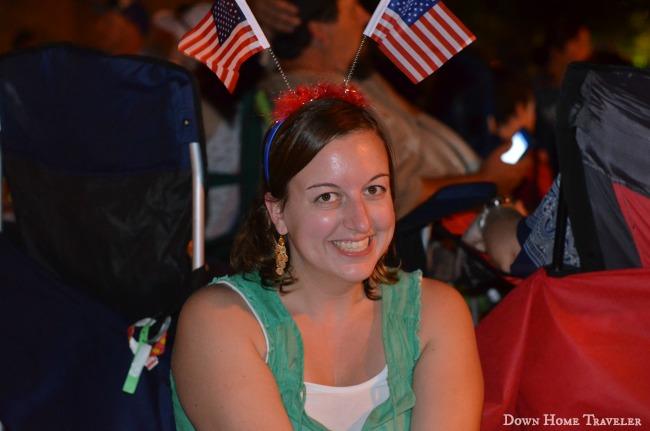Independence Day, Texas, Arlington, Light up Arlington, USA