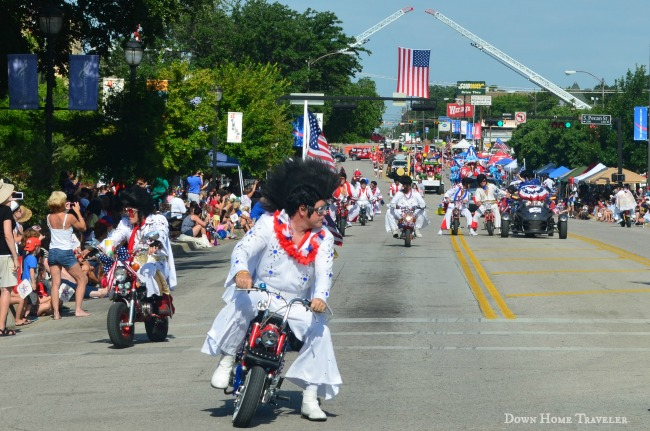 Independence Day, Texas, Arlington, Arlington Idependence Day Parade, Parade, Elvis Motorcycle