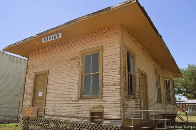 Strawn, Texas, Small Town, Visit Texas, Train Station