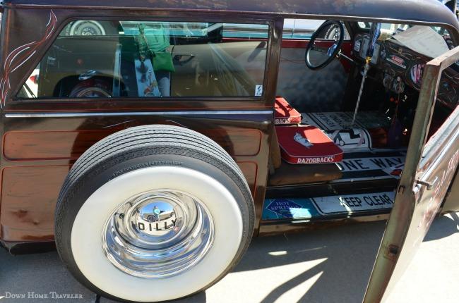 Good Guys, Car Show, Antique, Car Detail
