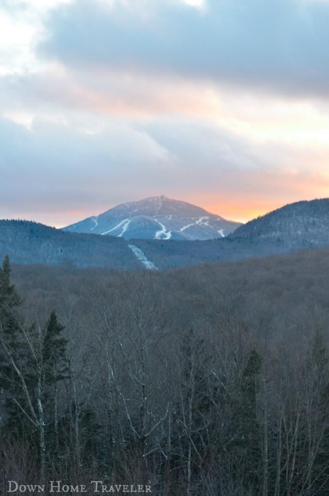 Vermont, Sunset, Richford, Vermont, 802