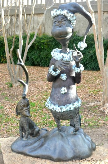 Dr. Seuss, Everman Park, Abilene Texas, Storybook Sculpture,  The Grinch