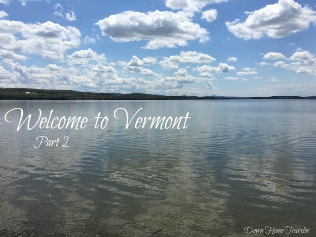 Vermont, Lake Carmi, Scenery