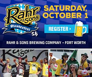 Rahr & Sons Oktoberfest 5k, Oktoberfest Giveaway, 5k, Fort Worth